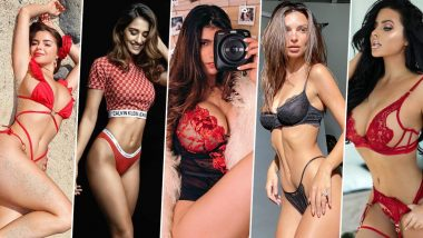 Valentine's Day Sexy Lingerie: From Disha Patani and Demi Rose to Mia Khalifa and Abigail Ratchford to Take Inspiration from for the Steamy Night!