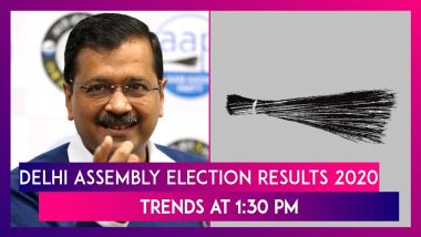 Delhi Assembly Election Results 2020 Trends At 1:30 PM: AAP Looks All Set To Retain Delhi