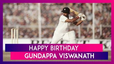 Happy Birthday Gundappa Viswanath: Lesser Known Facts About The Former Indian batsman