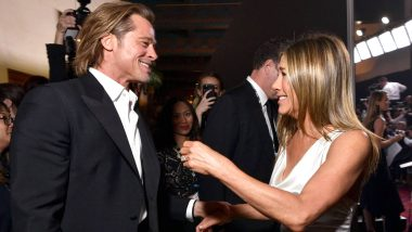 Ex Couple Brad Pitt and Jennifer Aniston Bump into Each Other at 2020 Oscars After-Party (View Pic)
