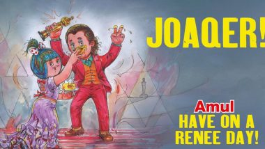 Joaquin Phoenix's Oscar Win Gets an Amul Topical, But PETA India Trolls It Saying 'Joke's On You' Given the Actor's Vegan Stand