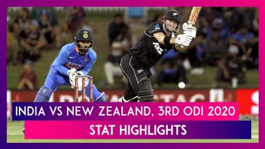IND vs NZ Stat Highlights, 3rd ODI 2020: New Zealand Hands India Historic Whitewash