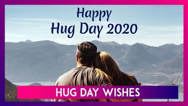 Hug Day 2020 Wishes, Images & Messages to Share With Your Partner