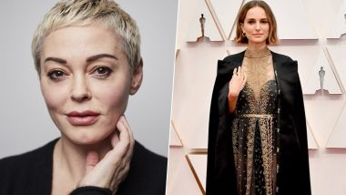 Rose McGowan Slams Natalie Portman's Pro-Women Oscars Ensemble, Questions the Annihilation Actress About How Many Female Directors She Has Worked With