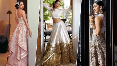 Kiara Advani's Pictures in Pretty Silhouttes with Soft Colour Palette Make her the Perfect Inspiration for all Brides-to-Be (View Pics)