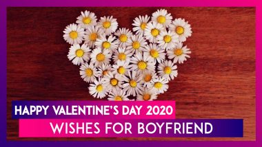 Happy Valentine's Day 2020 Wishes For Boyfriend: WhatsApp Messages, Images & Quotes To Send Him