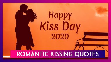 Happy Kiss Day 2020: Passionate Quotes & Sayings On Kiss That Will Fuel Your Desire