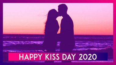 Kiss Day 2020 Wishes: WhatsApp Messages, Quotes, Sayings to Send on Seventh Day of Valentine Week
