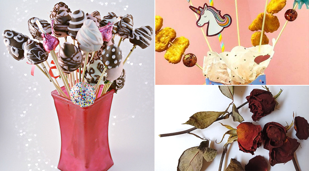 Happy Valentine's Day 2020! From Edible Bouquets to Dried Flowers, Some V-Day Trends That Will Blow Your Mind!