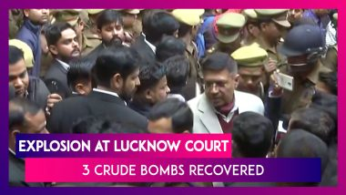 Explosion At Lucknow Court: 3 Crude Bombs Recovered, Several Injured