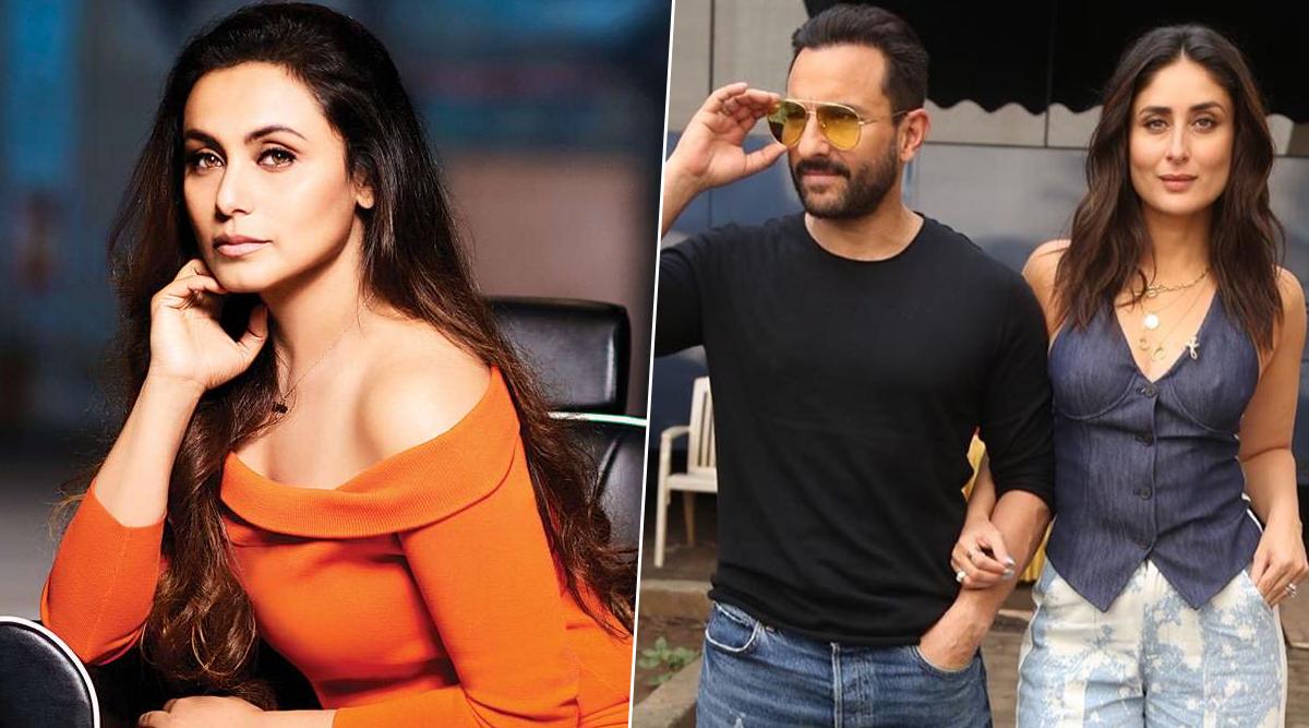 Saif Ali Khan Recalls the Precious Advice from Rani Mukerji When He Started Dating Kareena Kapoor