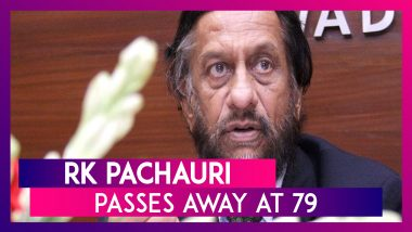 RK Pachauri, Former TERI Chief Who Led UN Climate Body When It Won Nobel, Passes Away At 79 In Delhi