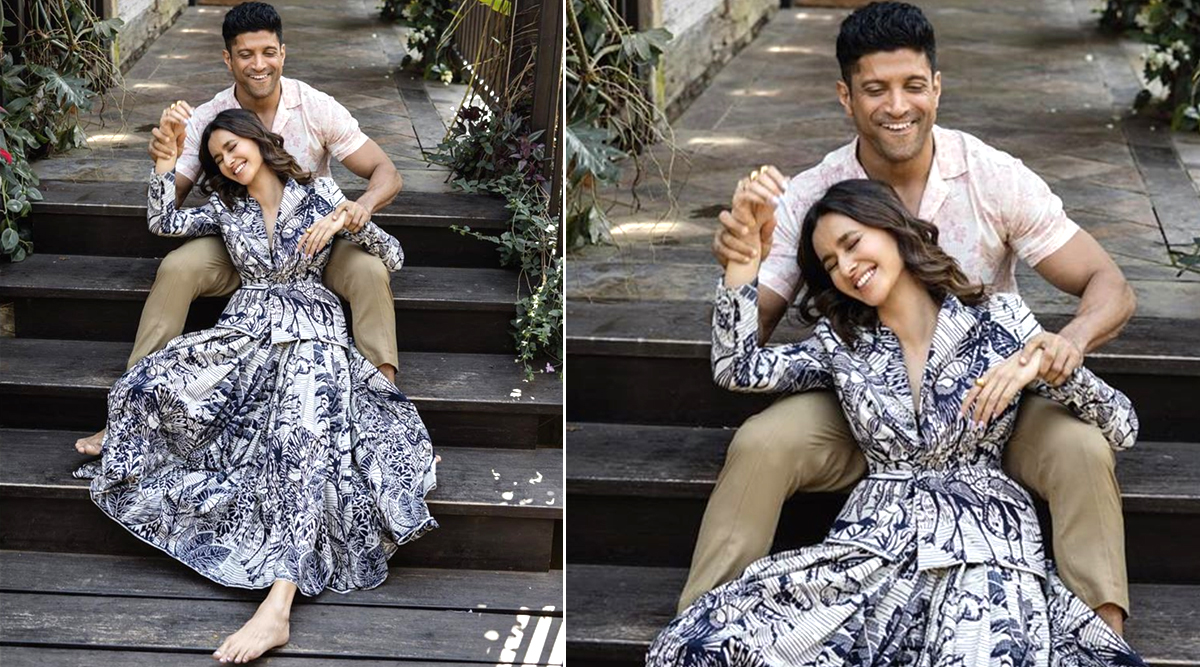 Valentine's Day 2020: Farhan Akhtar Shares an Adorable Picture with Girlfriend Shibani Dandekar and We are all Hearts For This Duo