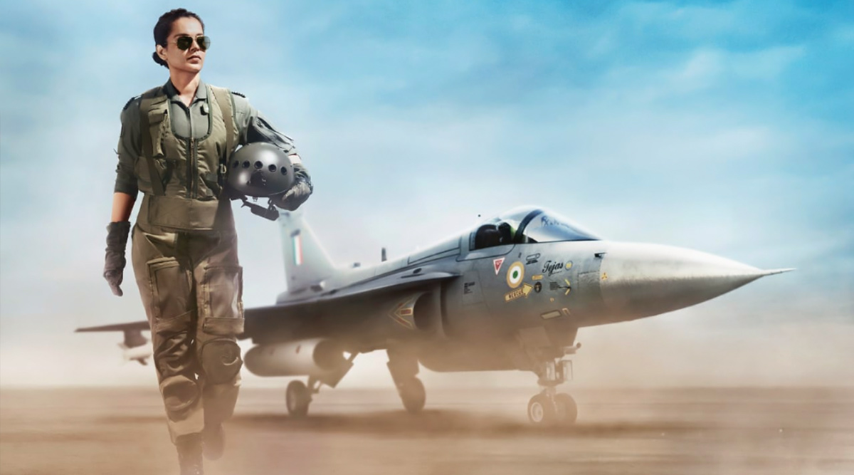 Tejas First Look Out! Kangana Ranaut Looks Headstrong as an Air Force Pilot
