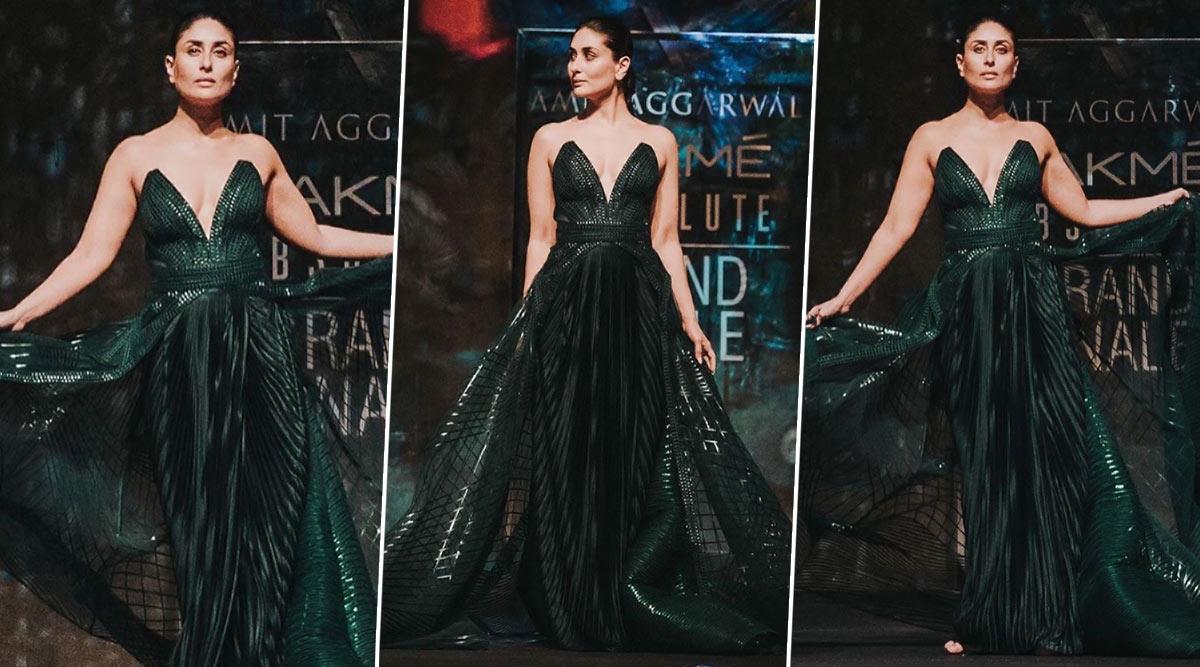Lakme Fashion Week Summer/ Resort 2020: Kareena Kapoor Khan, The Glam Sorceress Seals The Season For Amit Aggarwal!
