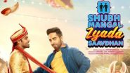 Shubh Mangal Zyada Saavdhan Movie: Review, Cast, Box Office Collection, Budget, Story, Trailer, Music of Ayushmann Khurrana, Jitendra Kumar's Romantic-Comedy