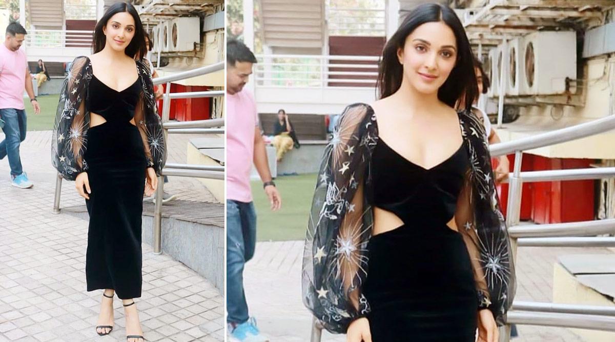 Yo or Hell No? Kiara Advani's Black Velvet Dress for Guilty Trailer Launch