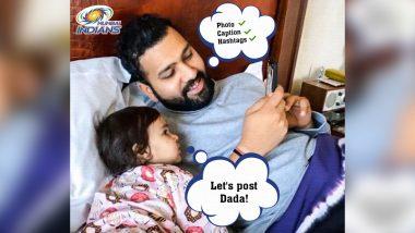 Mumbai Indians Share Rohit Sharma's Photo with 'New Social Media Manager'