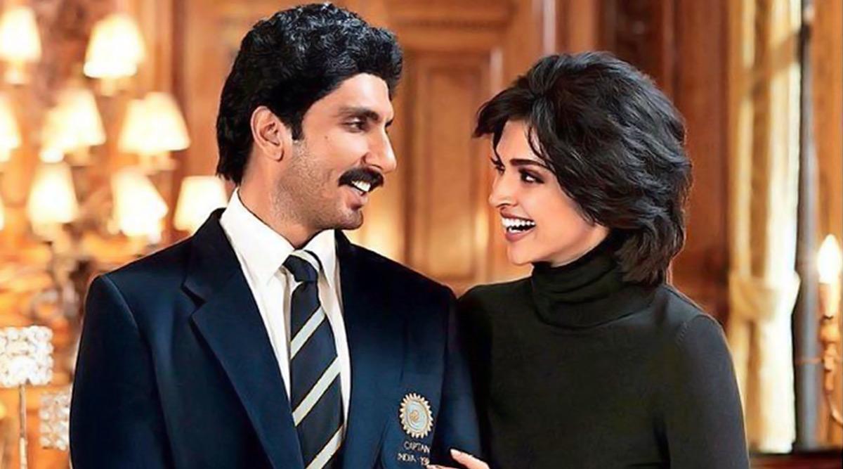 '83: Deepika Padukone as Romi Dev is All Smiles With Ranveer Singh's Kapil Dev