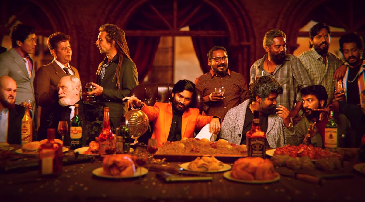 D40 Motion Poster: Dhanush's Karthik Subbaraj Directorial Titled Jagame Thanthiram Looks Like a Badass Gangster Drama (Watch Video)