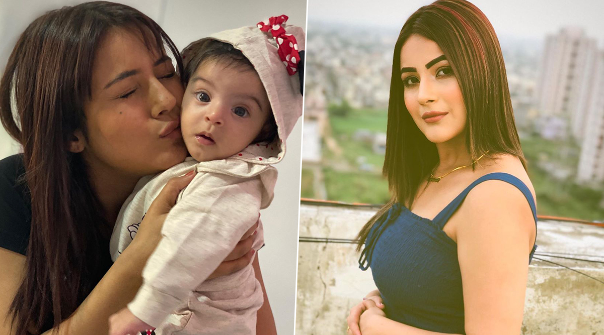 Shehnaaz Gill's Adorable Picture With Mahhi Vij and Jay Bhanushali's Daughter Tara is Sure to Melt Your Hearts! (See Pic)