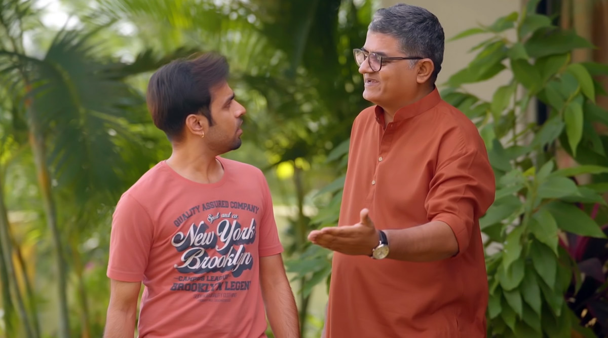 Gajraj Rao, Jitendra Kumar Reunite to Tickle Our Funny Bone in TVF's 'Daddyji's Gift' (Watch Video)