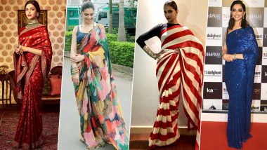 Sabyasachi Mukherjee Birthday Special: 10 Times Deepika Padukone Turned into a Perfect Muse for this Brilliant Designer (View Pics)