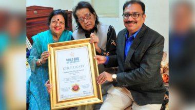 Padma Shri Manoj Kumar Receives WBR Golden Era of Bollywood Honour from London's World Book of Records