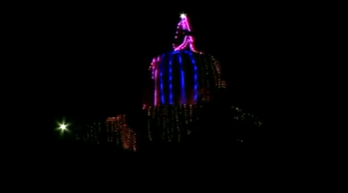Mahashivratri 2020: Shankracharya Temple in Srinagar Illuminated With Colourful Lights (Watch Video)