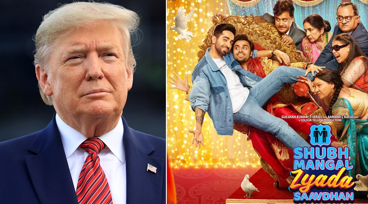 US President Donald Trump Gives a Thumbs-Up to Bollywood's Gay Romance Shubh Mangal Zyada Saavdhan - Read Tweet!