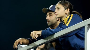 Alia Bhatt Joins Beau Ranbir Kapoor to Cheer for His Football Team at Indian Super League (See Pics)