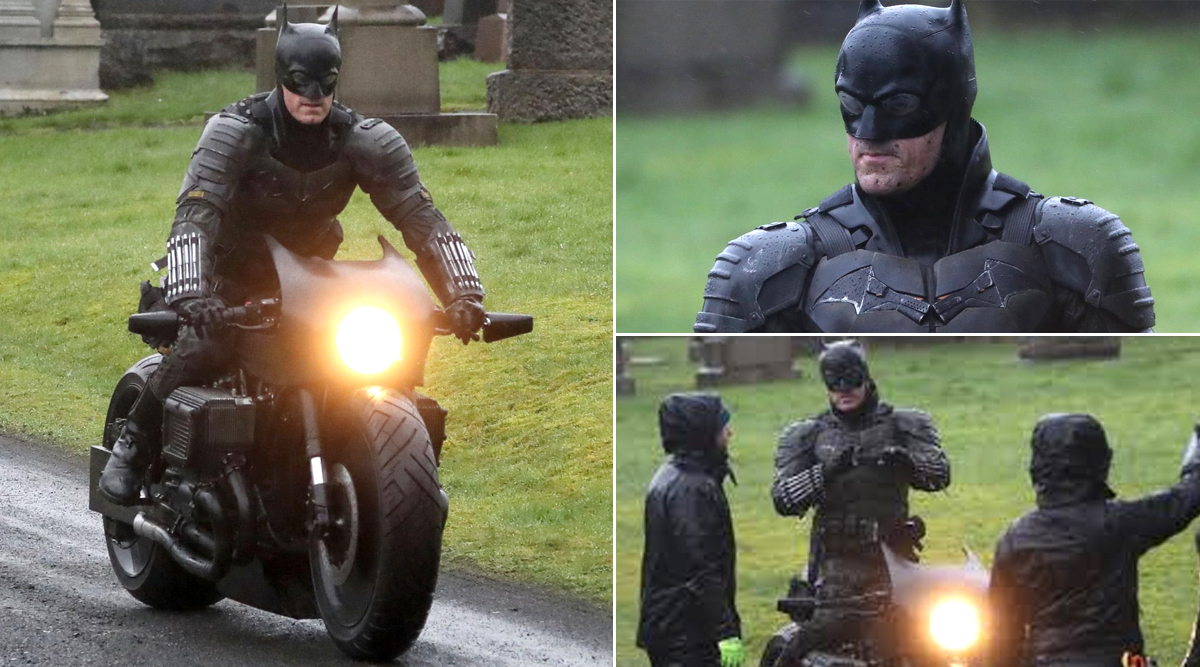 The Batman: Leaked Pictures from the Set Reveal a Clear Look at Robert Pattinson's Batsuit (See Pics)