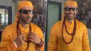 Kartik Aaryan Can't Stop Smiling As He Begins Shooting for Bhool Bhulaiyaa 2 Donning the Same Look as Akshay Kumar from the Original (Watch Video)