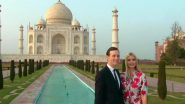 Ivanka Trump Poses With Husband Jared Kushner at The Iconic Taj Mahal in Agra; See Pics