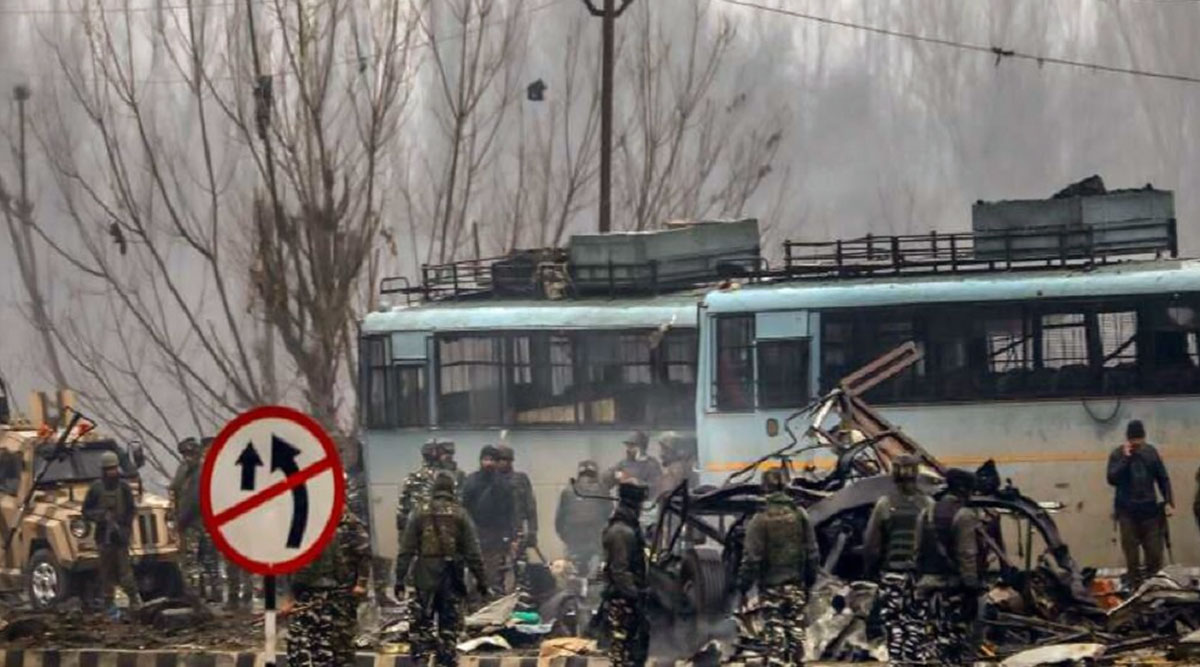Pulwama Attack Case: NIA Arrests Over-Ground Worker of JeM For Providing Shelter & Logistic Support to Suicide Bomber