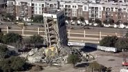 Demolition of Leaning Tower Of Dallas To Take Weeks After Strong Winds Grounded The Wrecking Ball On Second Day
