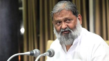 Haryana To Completely Seal Its Borders With Delhi Amid Spike in COVID-19 Cases, Says State Home Minister Anil Vij