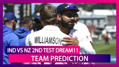 India vs New Zealand Dream11 Team Prediction, 2nd Test 2020: Tips To Pick Best Playing XI