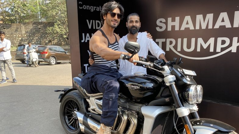 Vidyut Jammwal Gets a Triumph Motorbike as a Gift from His Manager Abbas Sayyed