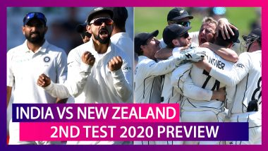 IND vs NZ, 2nd Test 2020 Preview: India Fight To Escape Series Defeat, New Zealand Eye Whitewash