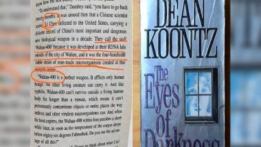 American Novelist Dean Koontz Predicted Coronavirus Four Decades Ago, Suggest Conspiracy Theorists