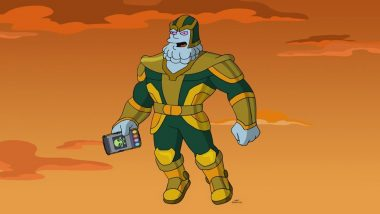 Marvel's Kevin Feige to Voice a Thanos-Like Character in The Simpsons Special Episode