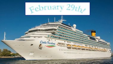 Happy Birthday, Leaplings! Special Cruise Ship Mega Birthday Bash Arranged for Leap Day 'Babies'; Know More