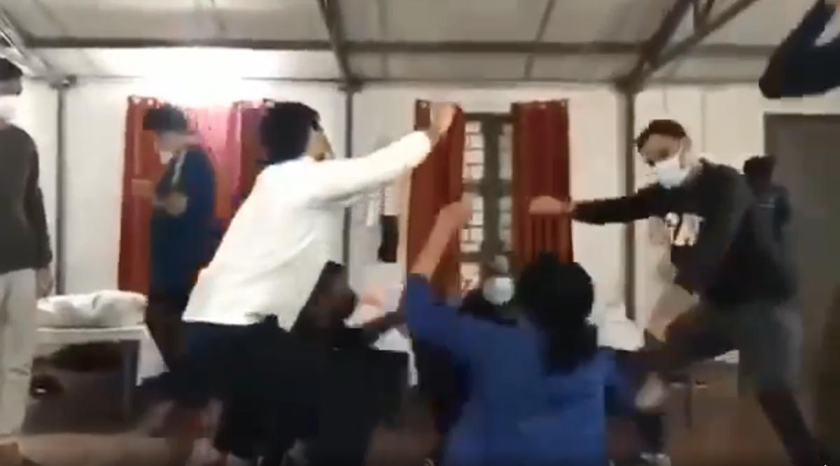 Coronavirus: Indians Evacuated From Wuhan Dance to Haryanvi Song at Quarantine Center in Manesar, Watch Viral Video