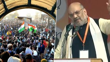 Anti-CAA Protests at Shaheen Bagh: Demonstrators Insist on Meeting Amit Shah, MHA Says 'No Such Meeting is Scheduled'