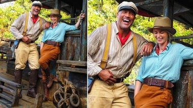 Dwayne Johnson's Birthday Wish to His Jungle Cruise Co-Star Emily Blunt Is Full of Praises (View Pic)