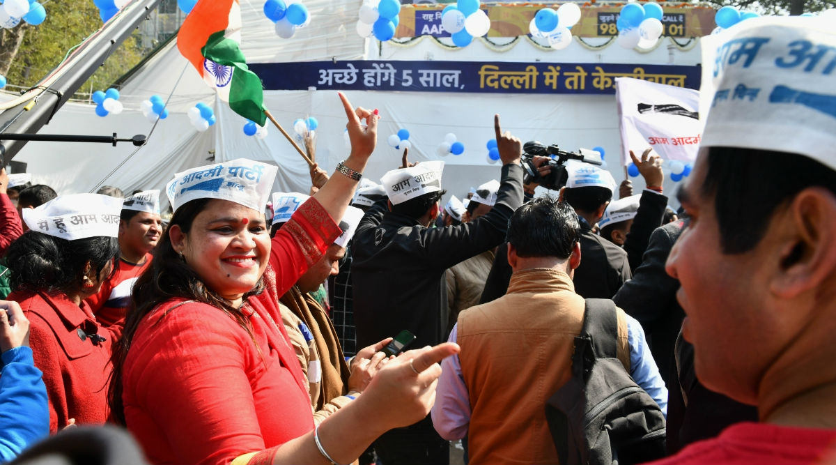 AAP Membership Drive: Party Says Over 1 Million People Joined It Since Victory in Delhi Assembly Elections 2020