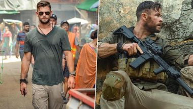 Chris Hemsworth S First Look From Netflix Film Dhaka Now Titled As Extraction Out View Pics Latestly