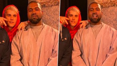 Justin Bieber Performs a Marvin Sapp Song at Kanye West's Sunday Service