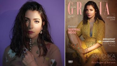 Anushka Sharma Sizzles in a Super Hot Lace Dress on Grazia India's February Cover (View All Pics)